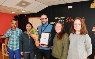 Inkluderende Bedrift 2019: Lerøy Norway Seafoods avd Melbu